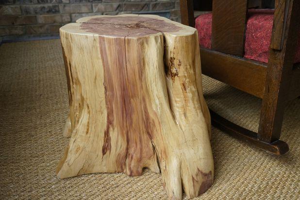 столик из пня своими руками