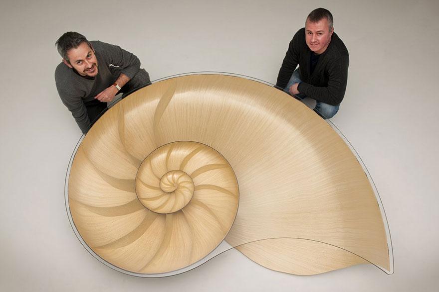 Как выглядят самые необычные и креативные столы в мире - стол в виде огромной раковины