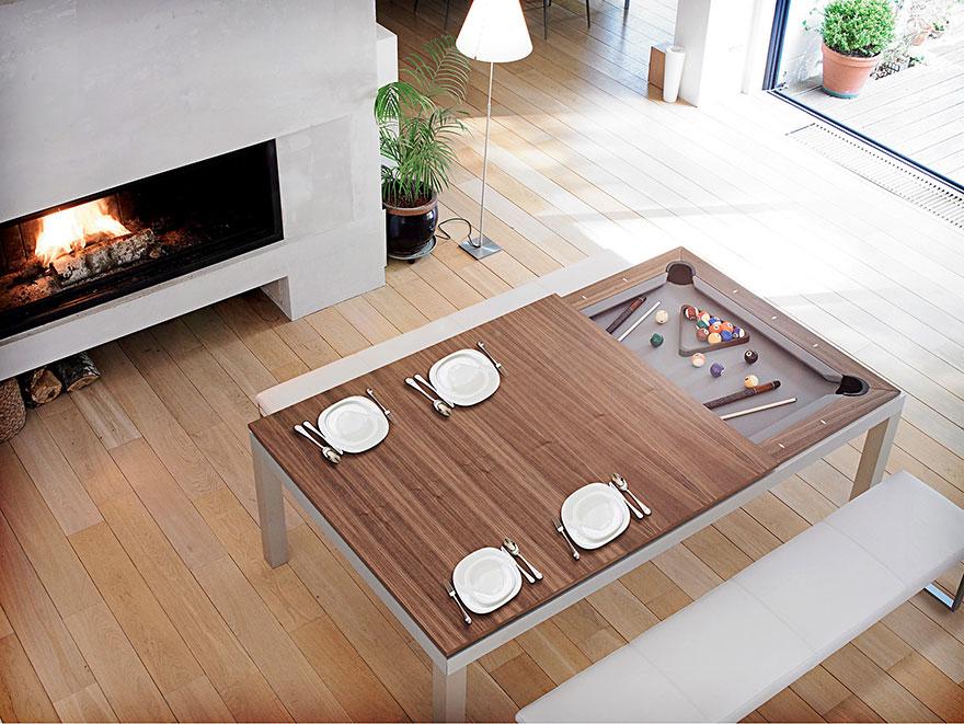 Как выглядят самые необычные и креативные столы в мире - стол-бильярд