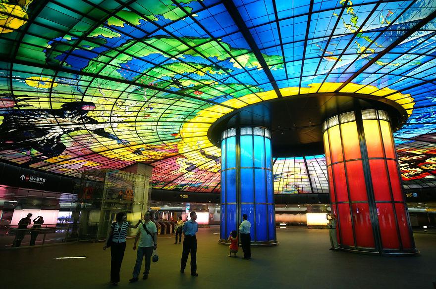Метростанция «Бульвар Формоза» - Гаосюн, Тайвань