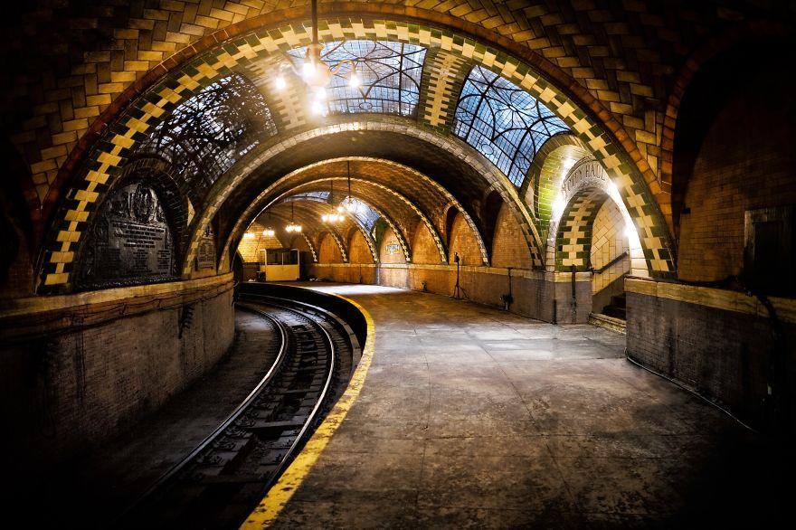 Метростанция «Сити-Холл» - Нью-Йорк, США