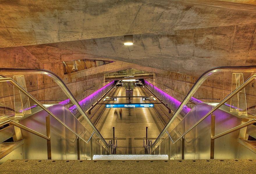 Метростанция «Ратуша Бохум» - Германия