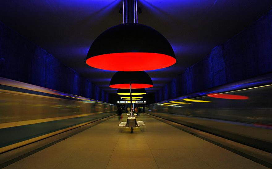 Метростанция «Westfriedhof» - Мюнхен, Германия
