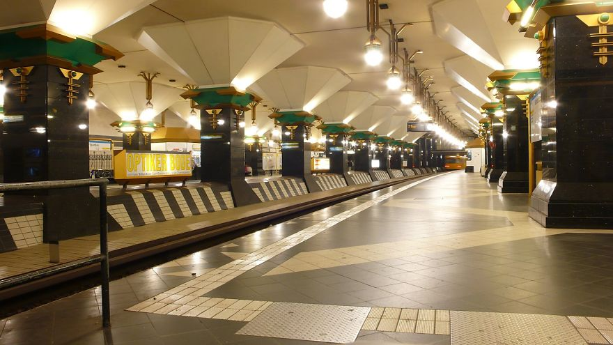 Метростанция «Ратхаус Шпандау» - Берлин, Германия