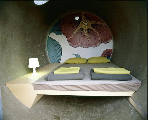 Самые необычные отели мира: номера в бетонных канализационных трубах, сеть австрийских отелей «Dasparkhotel»