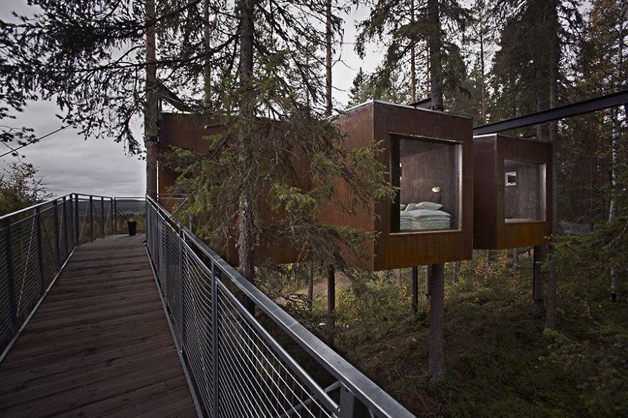Номер-стрекоза отеля «Treehotel», Харадс, Швеция