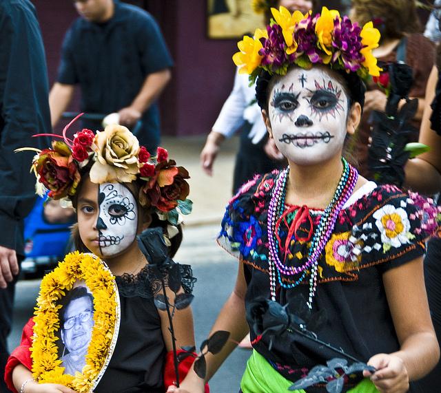 мексиканский фестиваль «День мертвых»