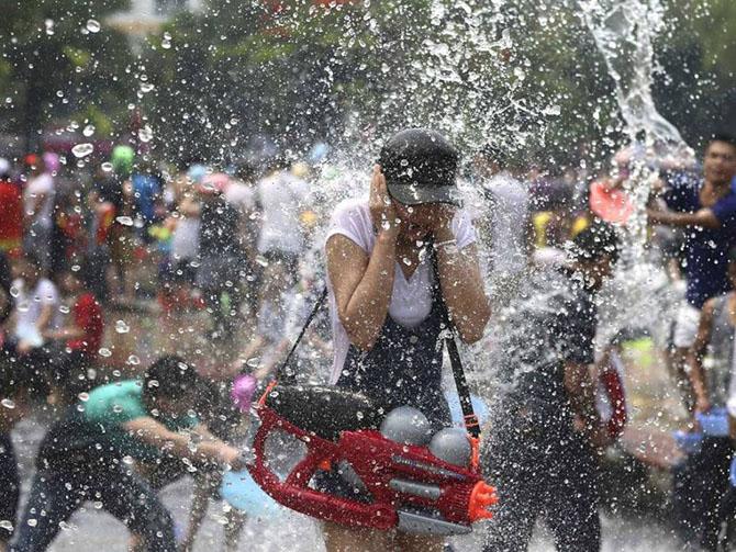 """Водный Фестиваль """"Сонгкран"""" (Таиланд)"""