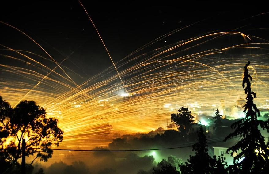 Пасхальные ракетные войны «Rouketopolemos», Греция