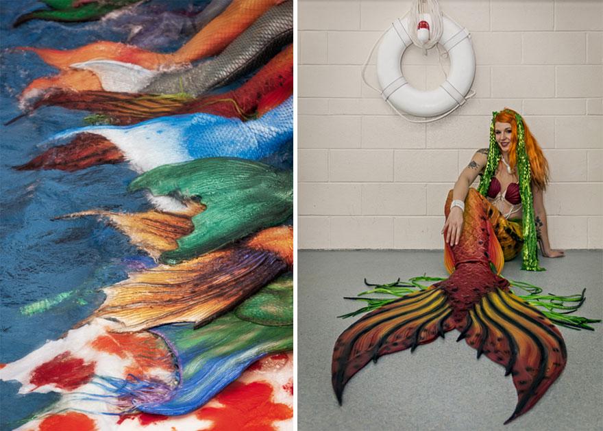 Морской фестиваль русалок и тритонов в Северной Каролине (США)