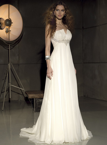 """свадебное платье """"Ампир"""""""