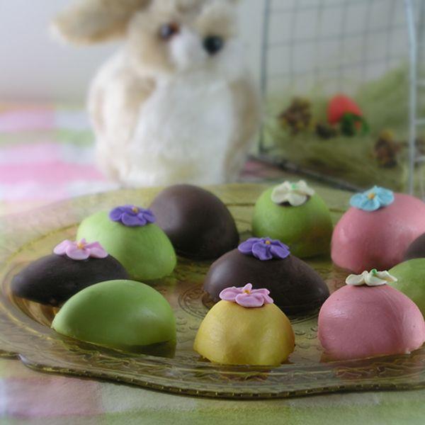 сладкие яйца на Пасху
