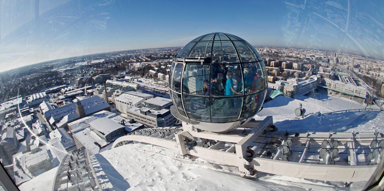 Самые страшные смотровые площадки мира: «Шар Эрикссона» в Швеции