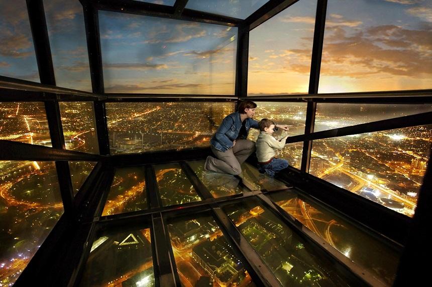 Самые страшные смотровые площадки мира: башня «Эврика» в Мельбурне