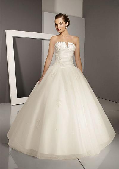 """свадебное платье фасон """"Шар"""""""