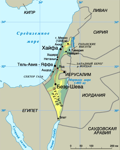 Как побывать на четырех морях Израиля. Средиземное море.