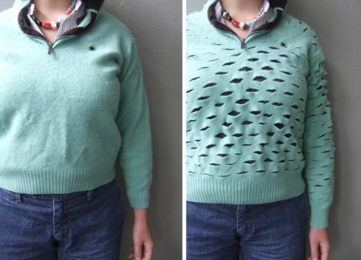 креативная переделка футболок: превращение футболки в сетку