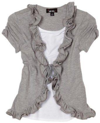 креативная переделка футболок: закругленный разрез спереди, рюши