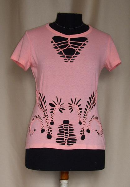 креативная переделка футболок: плетение