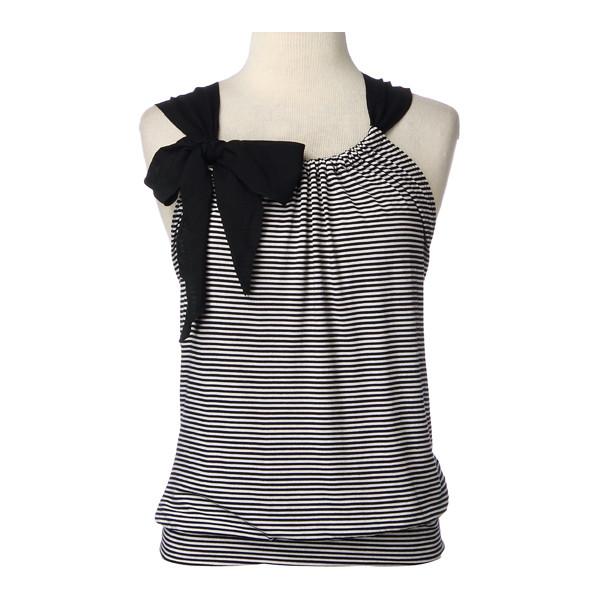 как преобразить скучную футболку: перешить в блузу на завязках