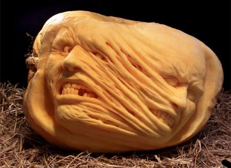 самые жуткие Хэллоуинские тыквы: телепорт не сработал