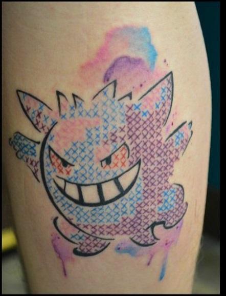 Самые последние наработки стилей: Топ-5 самых популярных татуировок - вышивка крестиком для гиков