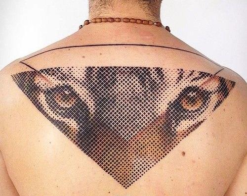Самые последние наработки стилей: Топ-5 самых популярных татуировок - полутона, точки и градиенты - Техника репрографики (reprographic)