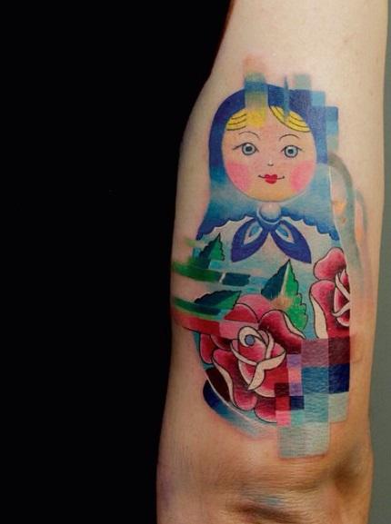 Самые последние наработки стилей: Топ-5 самых популярных татуировок - пиксели