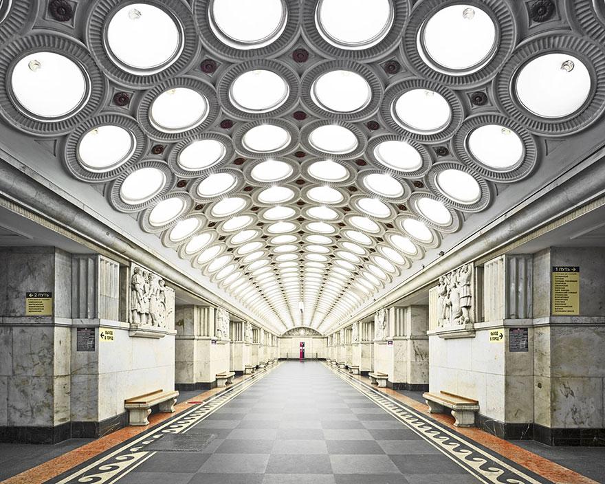 Как выглядят 30+ самых красивых станций метро в мире - Электрозаводская, Москва