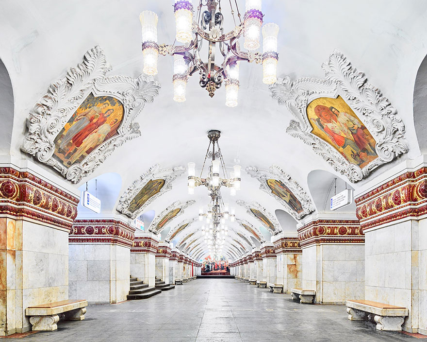"""Станция метро """"Киевская"""" - Москва, современный вариант,"""