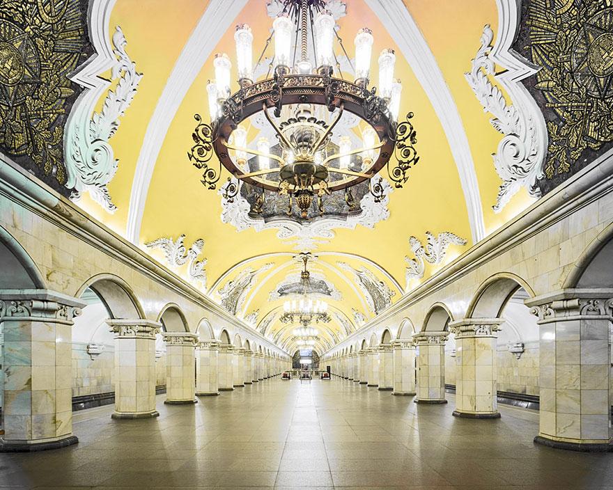 Как выглядят 30+ самых красивых станций метро в мире - Комсомольская, Москва - современный вариант