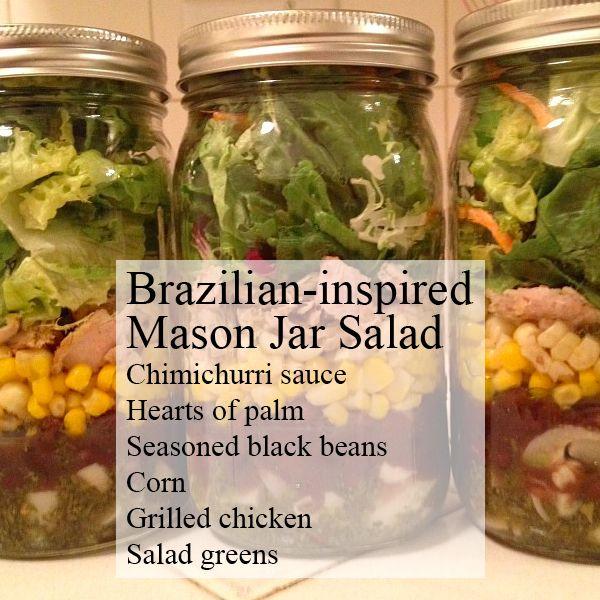 бразильский салат