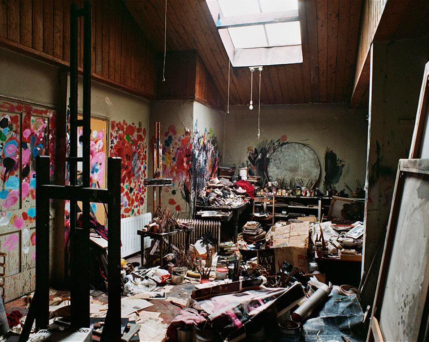 Художественная студия Фрэнсиса Бэкона