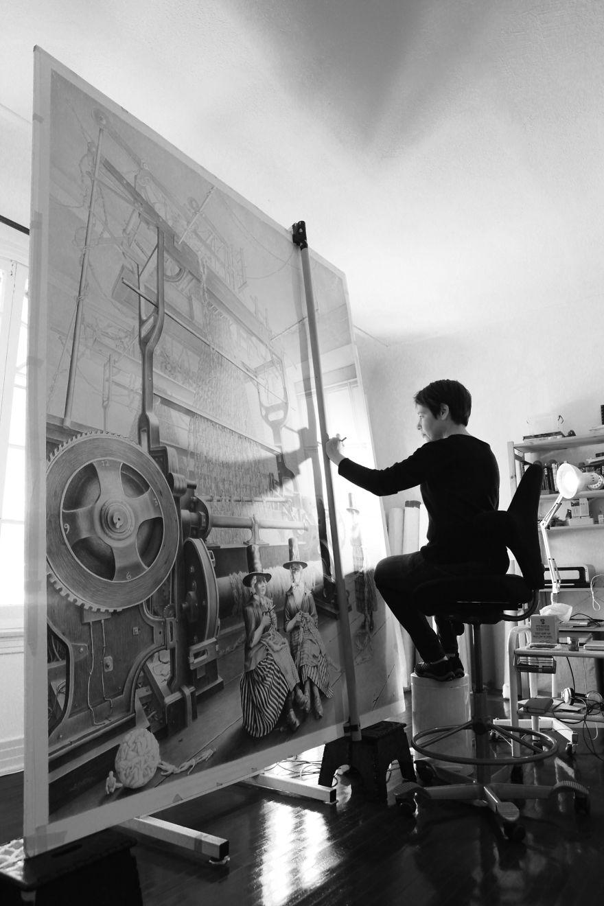 Лори Липтон в своей студии