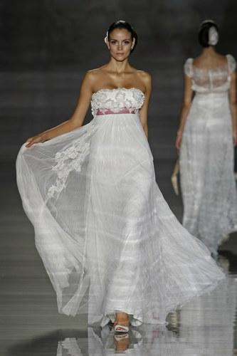 свадебное платье с высокой талией для невыских девушек