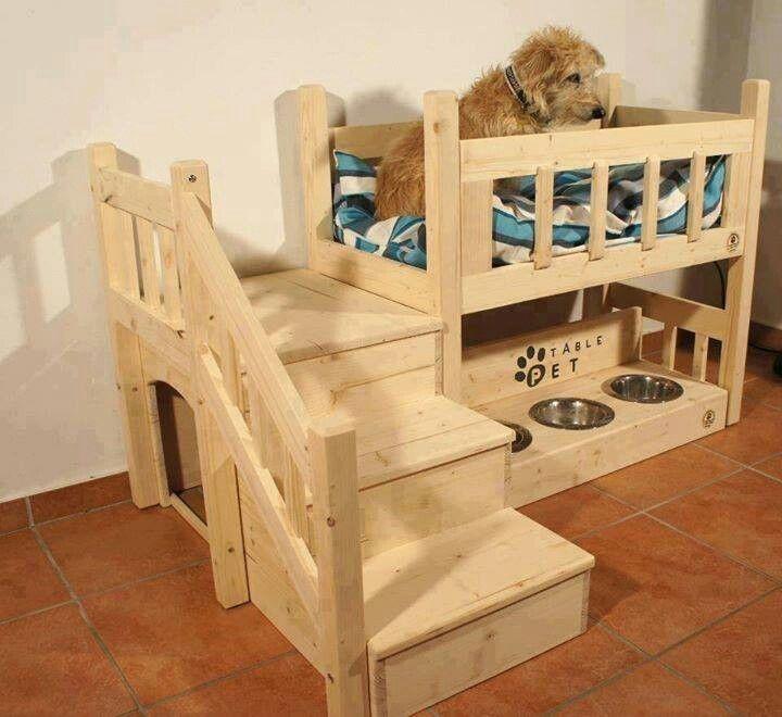 лежак-комплекс для кошек и собак - двухъярусная кровать