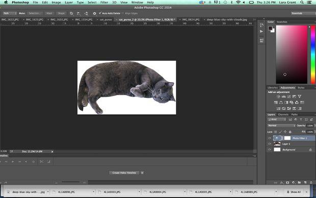 выделите фон изображения и удалите его с картинки