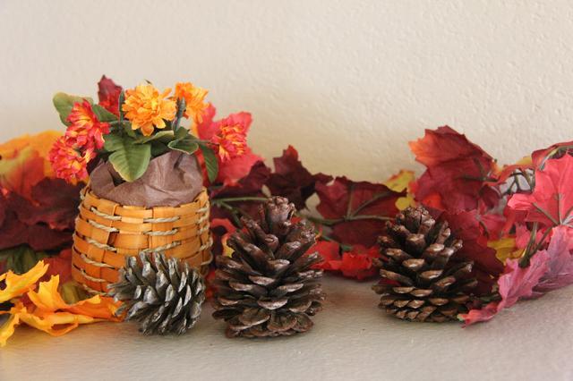 Как сделать ароматизированные шишки с корицей для осенних и новогодних композиций