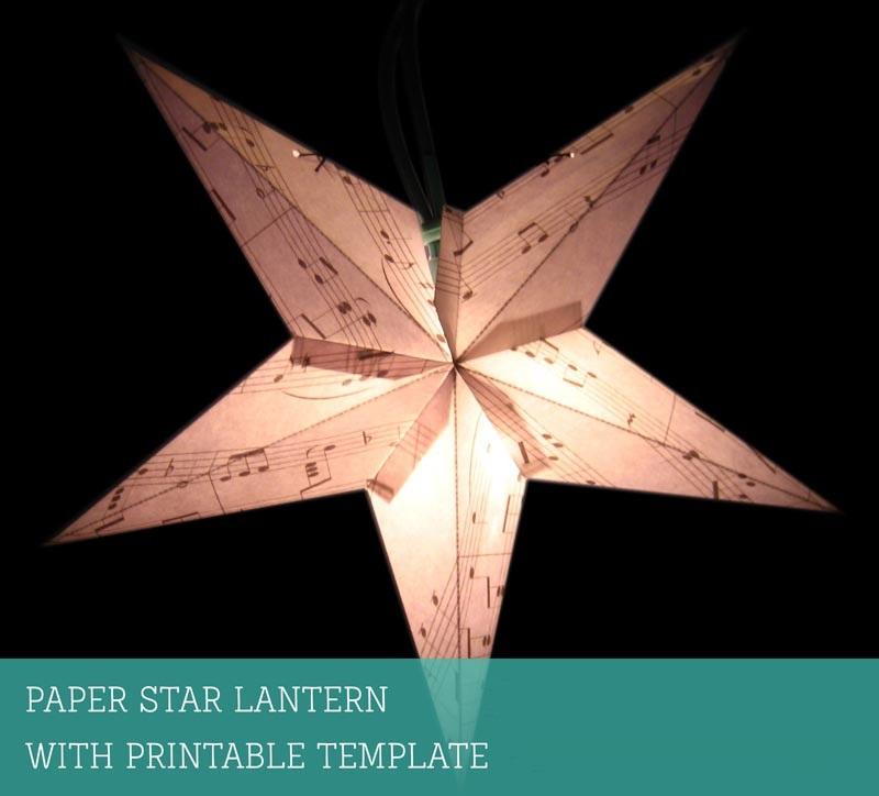 Как сделать классическую праздничную шведскую светящуюся объемную звезду
