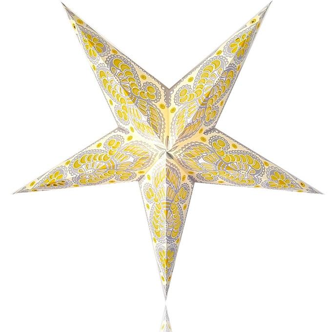 Вырезаем в модулях для объменой звезды-светильника отдельные зоны принтов