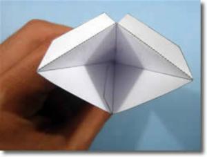 В результате 1 готовая вершина-модуль звезды у вас будет выглядеть вот так