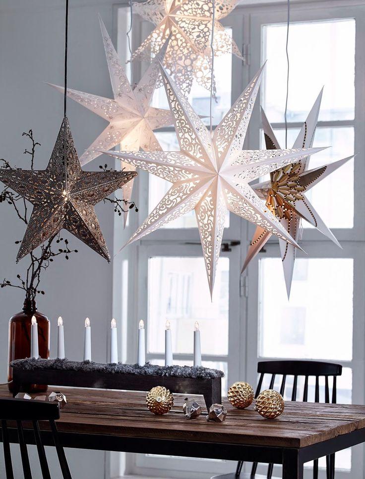 Сверху звездочки можно разукрасить карандашом или стразами, блестками или дополнительными деталями из цветной бумаги