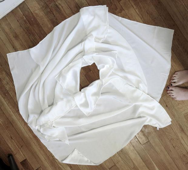 платье из трех платков