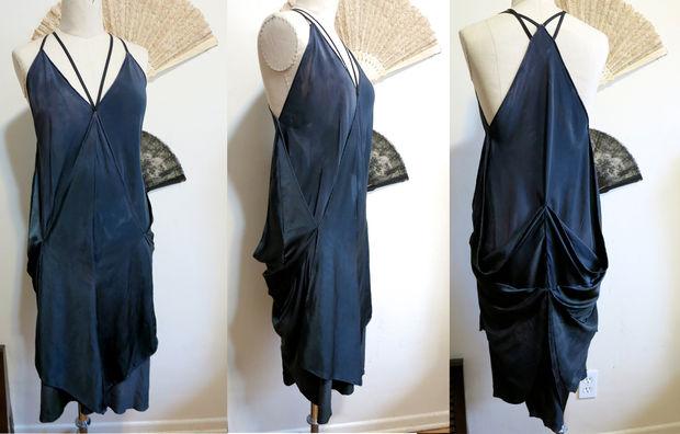 Возможные способы ношения и драпировки платья из платков