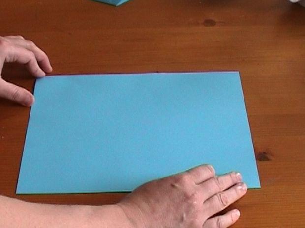 Как нарезать много абсолютно одинаковых снежинок: правильно складываем бумагу, пошаговая инструкция в картинках - исходный лист
