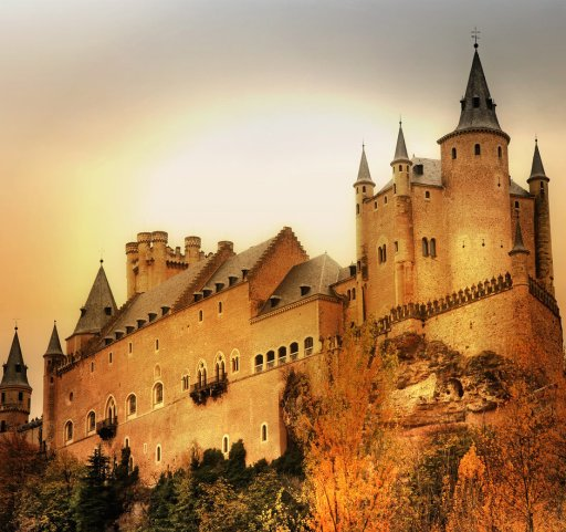 Как выглядят реальные прототипы замков из мультфильмов Диснея