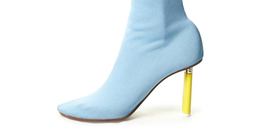 тренд моды 2019 - сапоги носки
