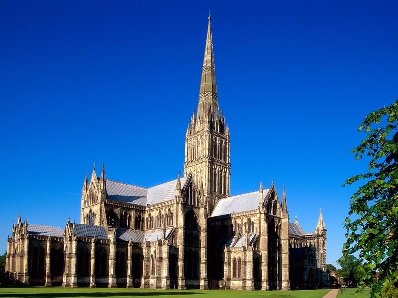 Солсберийский собор в Англии - готически стиль, Английский Нотр-Дам