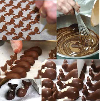 Шоколад ручной работы требует много труда