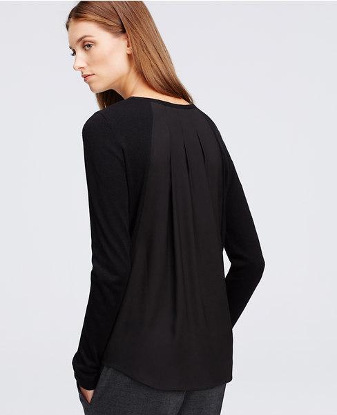 Как сделать модные свитер/кофту/пуловер с плиссированной вставкой